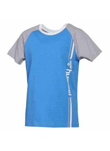 Hummel Çocuk Tişört Satley Reglan 911355-7620 Mavi